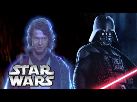 How Anakin Became A Force Ghost - A Star Wars Theory