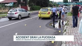 ACCIDENT GRAV LA PUCIOASA YOUTUBE
