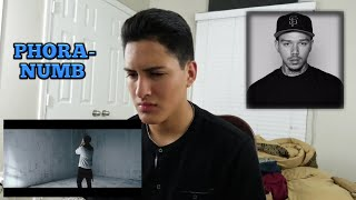 PHORA- NUMB (OFFICIAL MUSIC VIDEO)  REACTION!