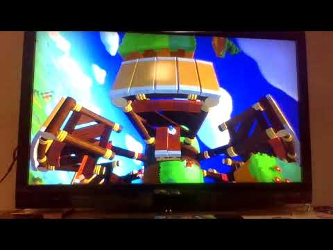 sonic lost world demo game over  
