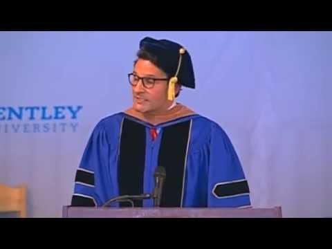 Jorge Moran Commencement Address Bentley University May 2013