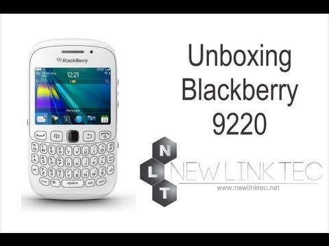 Blackberry 9220 Blanco Unboxing