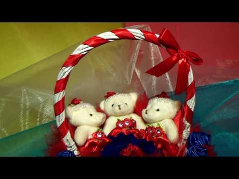 Букеты из мягких игрушек Подарочные мягкие игрушки