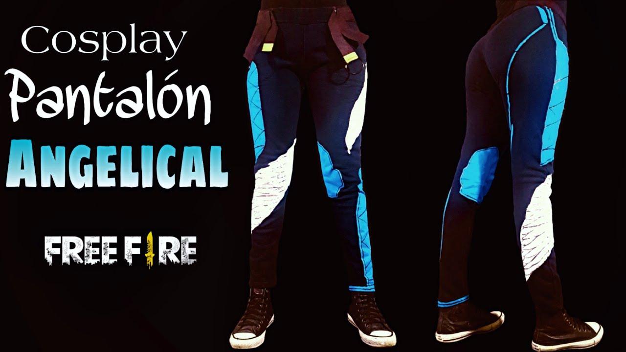Diy Como Hacer El Pantalon Angelical Masculino De Free Fire Cosplay Hacelo Vos Youtube