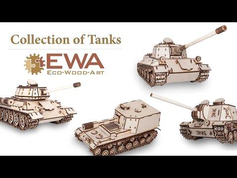 EWA collection of Tanks