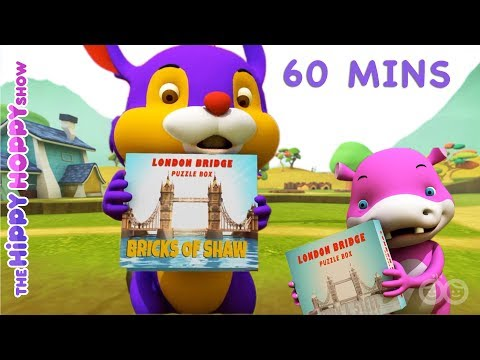 Non Stop English Nursery Rhymes   3D Nursery Rhymes for Kids and Children I 60Mins
