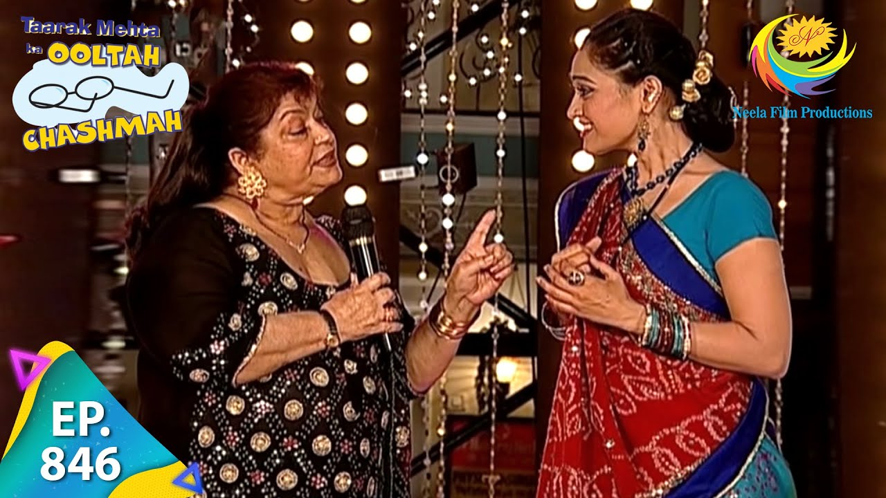 Download Taarak Mehta Ka Ooltah Chashmah - Episode 846 - Full Episode