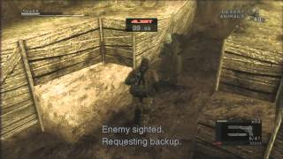 PS3 Longplay [101] Metal Gear Solid HD Collection: Metal Gear Solid 3 Subsistence (part 2 of 3)