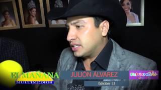 Entrevista con Julion Álvarez en la FENAHUAP 2015 de Cd. Valles