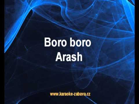 Karaoke klip Boro boro - Arash
