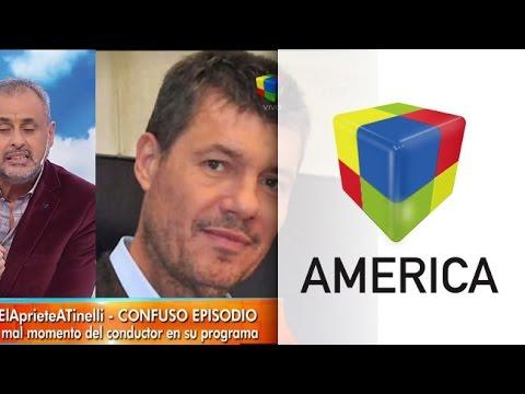 Detalles del apriete que sufrió Marcelo Tinelli durante el aire de ShowMatch