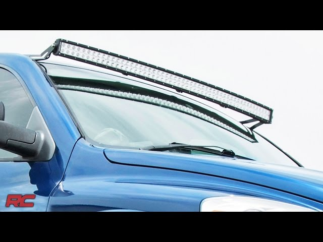 3500 50 inch LED Light Bar Mounts- Dodge Ram 2nd gen 1500 4500 2500