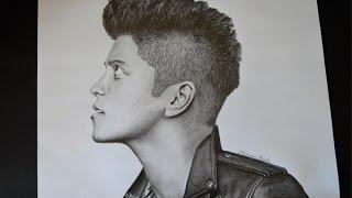 Bruno Mars Drawing