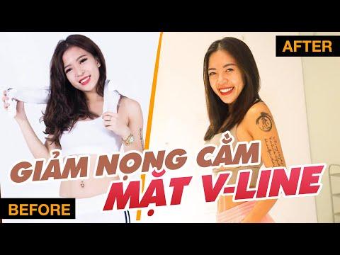 3 CÁCH GIẢM NỌNG MẶT TỪ O-LINE THÀNH V-LINE KHÔNG CẦN PHẪU THUẬT THẨM MỸ ♡ Hana Giang Anh