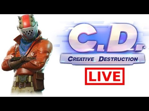 [√ LIVE #515 ] : BUKAN TOP GLOBAL FORTNITE - Creative Destruction PC - 동영상
