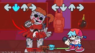 Friday Night Funkin PERO BABY de FNAF Se ha COMIDO A GF!! | FNAF  Friday Night Funkin VS.Baby