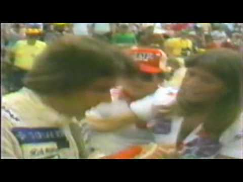 Indy Car Driver Rick Mears Ignited In Flames!