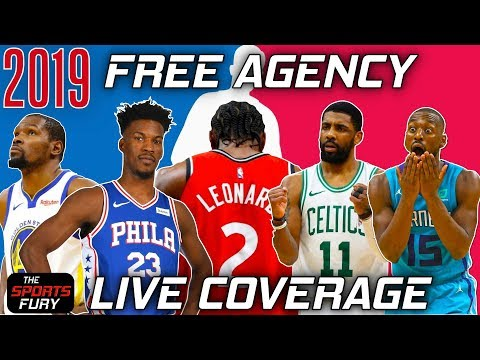 2019 NBA Free Agency Live Coverage