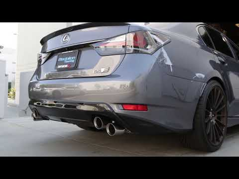Tanabe Medalion Touring Exhaust - 2016 Lexus GS F