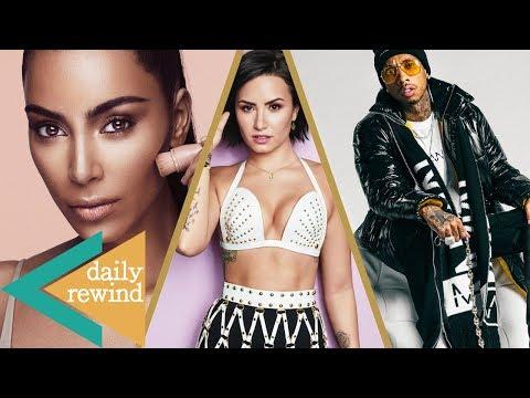 Kim Kardashian's HUGE Payday, Tyga Debuts Fashion Line, Demi Lovato Regrets Disney Days -DR