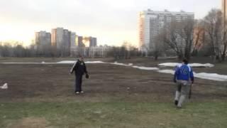 Первая тренировка Енотов 2013