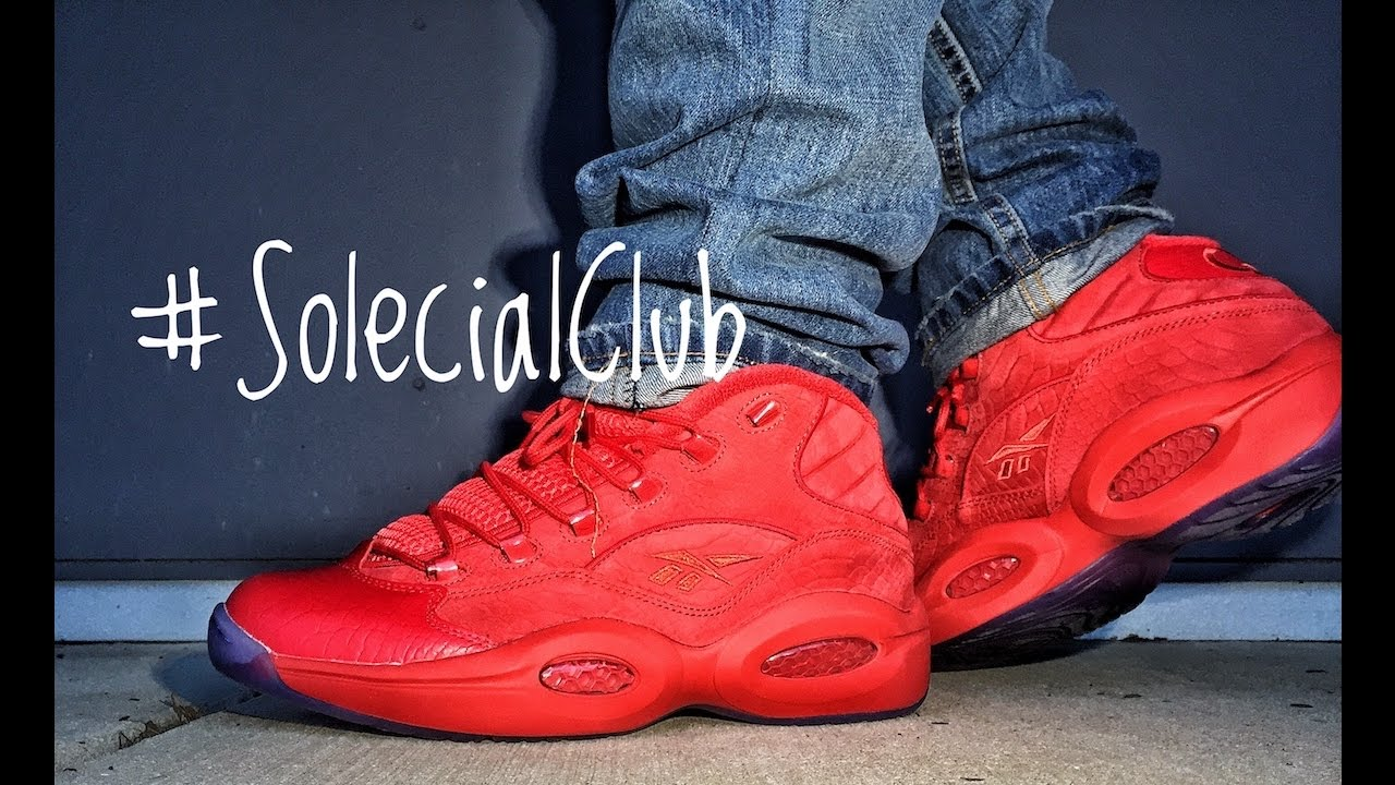 Teyana Taylor Reebok Question Review - YouTube acc7f6d99