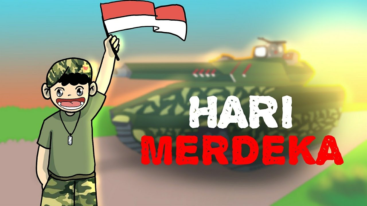 Kartun Lucu HARI MERDEKA VERSI ANIMASI YOUTUBE INDONESIA