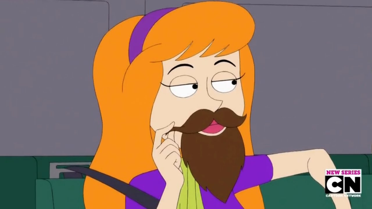 Daphne 39 s beard hijinks be cool scooby doo youtube - Scooby doo daphne ...