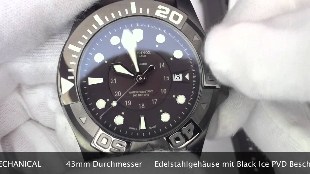 diver watches black master divemaster dive swiss automatic