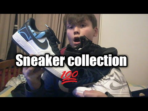 12 year olds heat Sneaker collection🤘