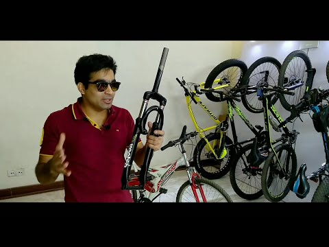 How to Install front Suspension in any Bicycle | just ₹500