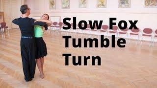 Slow Foxtrot Tumble Turn - Intermediate Dance Routine