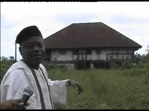 A tour of the 100 year old colonial office in Epe,,NIGERIA