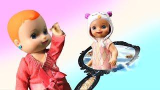 Живая кукла: Сестренка из зеркала! Игры для детей. Люси Шоу Люсишоус