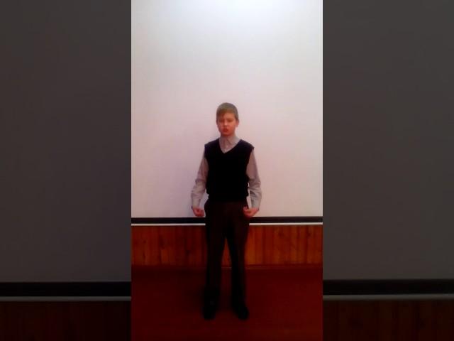 Изображение предпросмотра прочтения – ВладиславБелохвостик читает произведение «Ворона и Лисица» И.А.Крылова