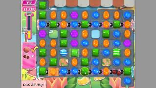 Candy Crush Saga Level 593 Basic strategy