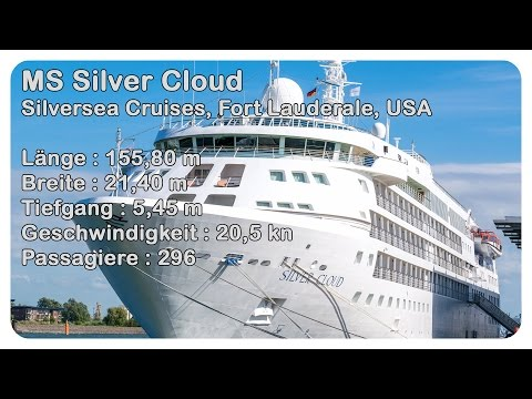 Silversea Silver Cloud Southampton - cruise ship