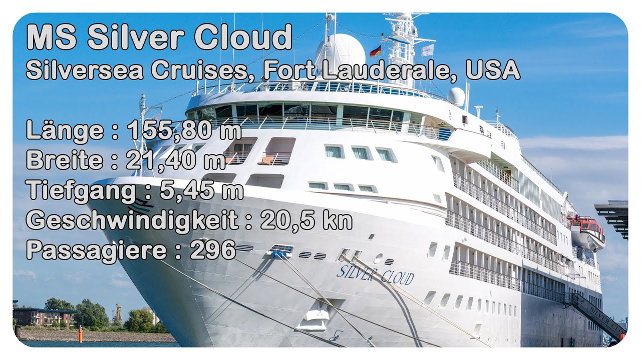 Silversea Silver Cloud Southampton Cruise Ship YouTube - Cruise ship silver cloud