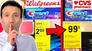 10 Shopping Secrets Walgreens & Cvs Don't Want You To Know!