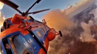 видео Вулкан на о. Реюньон проснулся после 4 лет сна