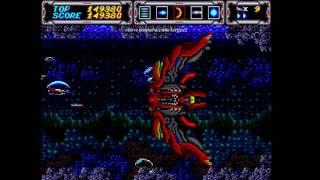 Thunder Force III Full Run Sega Saturn (Thunder Force Gold Pack 1)