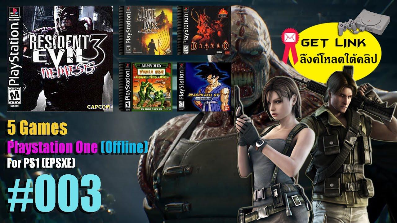 5 Game (Playstation One) เกม PS1 แนะนำ #003 (ลิ้งค์โหลดใต้คลิป)