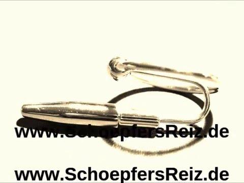 www.SchoepfersReiz.de - Kurz-Dehner mit Eichelring - Urethral Sounding -