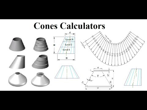 Full Cone, Half Cone, Truncated Cone, Eccentric Cone, Toricone, Multi Level Cones Layout Fabrication