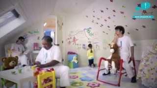Маркерная краска, маркерная стена IDEAPAINT в детской комнате<