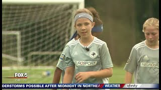 I-Team: Local Kid Inspires World Cup Player