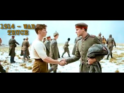Christmas Truce of 1914, World War I - 105 years ago they stopped the war For Sharing ,For Peace ...