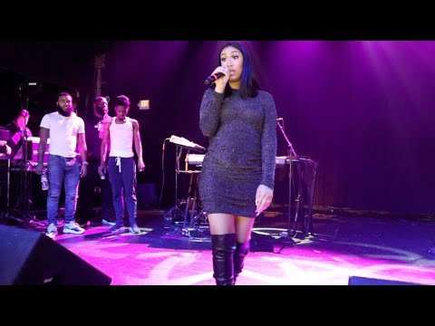 Queen Naija Does a Mashup Song & Performs Exclusive Girl/The Proud Family! (Part 2)