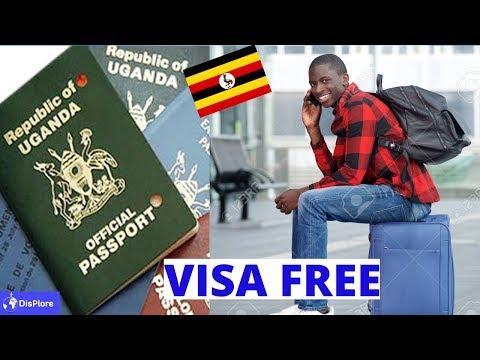 Visa Free Countries For Ugandan Passport Holders 2019
