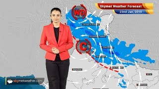 Weather Forecast Jan 22: Ferocious rain, snow over Kashmir, Himachal with moderate rains